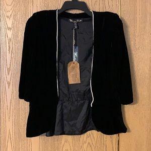 Winter Kate velvet blazer